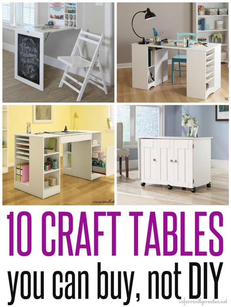 table crafts craft tables you can buy instead of diy