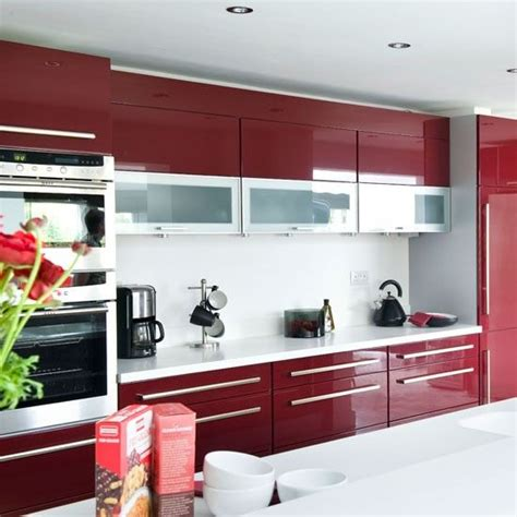 kitchen colour design best 20 red kitchen cabinets ideas on pinterest red