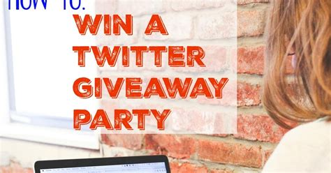 How To Win Sweepstakes And Giveaways - books bargains blessings how to win twitter party sweepstakes and giveaways
