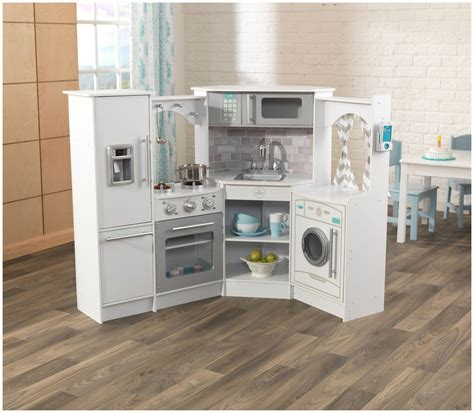 Kidkraft Ultimate Corner Play Kitchen by Kidkraft Ultimate Corner Play Kitchen Set White Ebay