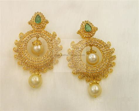 Gold X Earrings the gallery for gt tanishq gold chain for with price