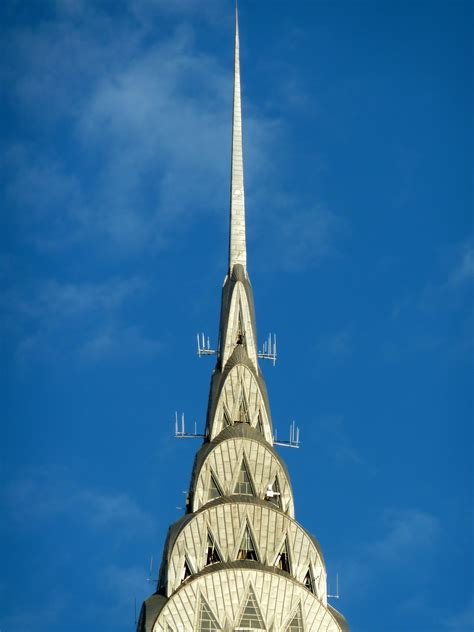 Chrysler Building Top by What Are The Top Floors Of The Chrysler Building Like