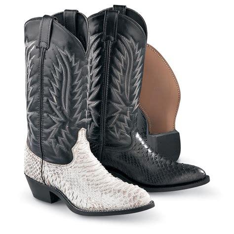 mens python boots s laredo 174 python print boots 121891 cowboy