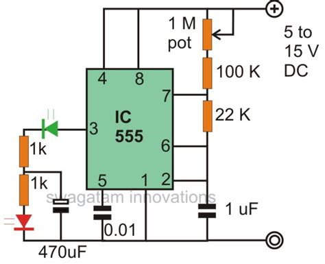 lights flickering on one circuit make interesting flasher and fader led circuits using ic 555
