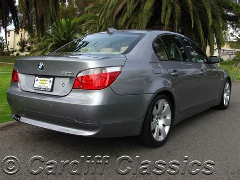 how make cars 2005 bmw 530 transmission control 2005 used bmw 5 series sport at cardiff classics serving encinitas iid 6013027
