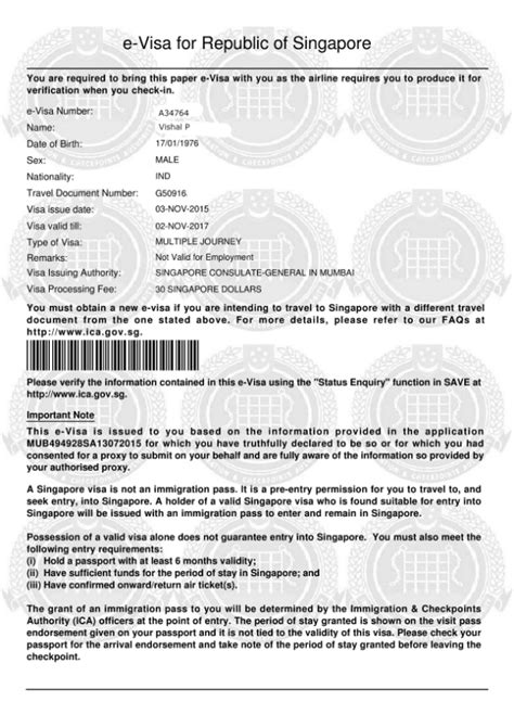 indian passport visa  visa  usasingaporethailand