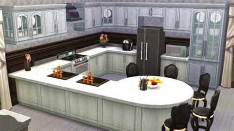 sims kitchen ideas sanjana sims black white kitchen sims 4 downloads