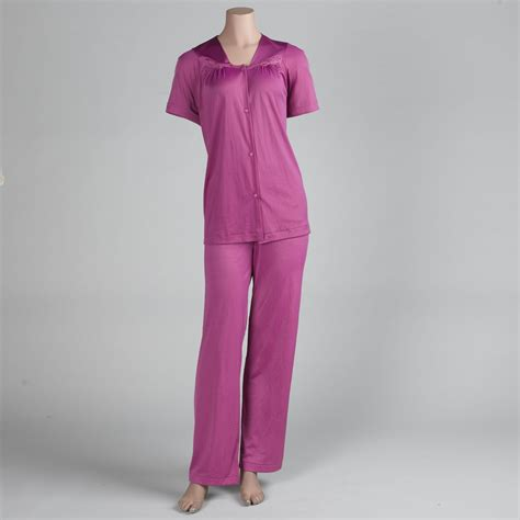 Vanity Fair Sleeve Pajamas vanity fair s sleeve pajama set clothing s clothing s pajamas