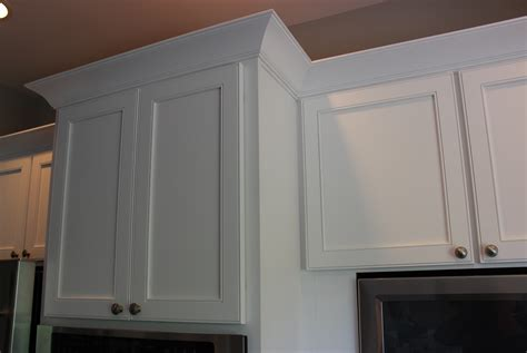 crown molding on top of cabinets contemporary kitchen crown molding
