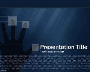Technology Template Powerpoint – Futuristic technology PowerPoint Template Background of