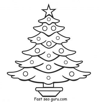 christmas tree coloring page print out print out christmas tree coloring pages printable