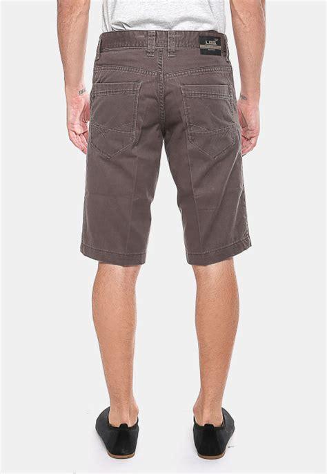 Celana Katun Formal Coklat celana katun coklat gelap tilan casual celana pendek