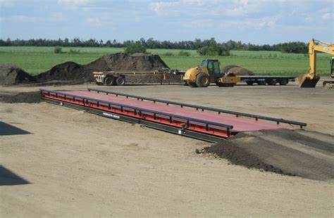 truck scales all types houston precision scale custom industrial truck scales