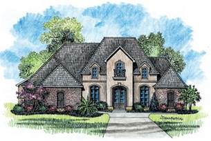 French Country Home Plans 653725 1 story 5 bedroom french country house plan