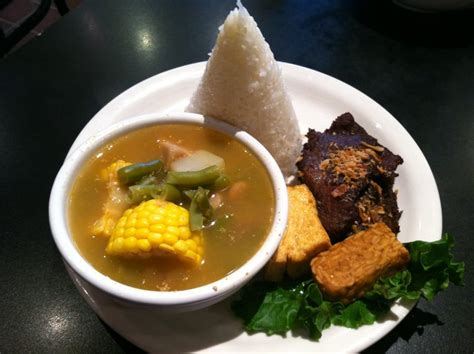 Kroket Daging N Sayur daging empal and sop sayur asem a for my taste buds and my belly the soup can be a