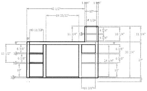 pdf bathroom vanity design plans free