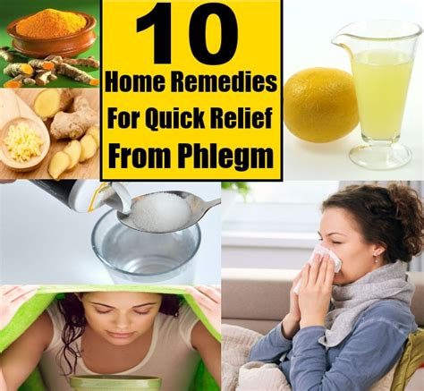 top 10 home remedies for relief from phlegm diy
