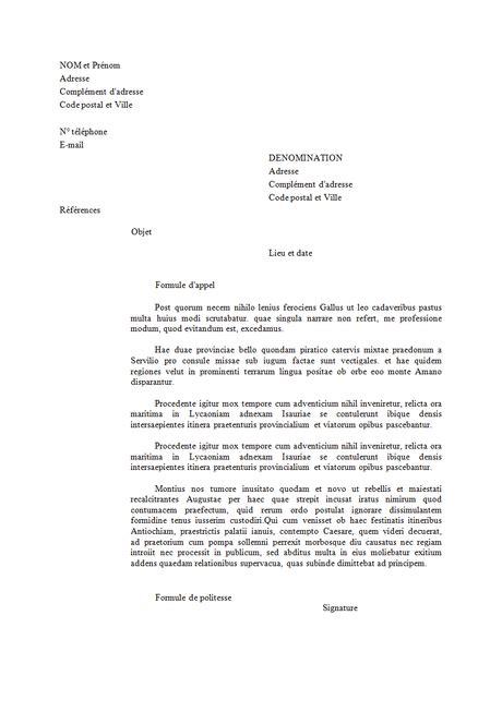 Exemple Lettre De Remerciement Formelle courrier administratif comment bien r 233 diger une lettre