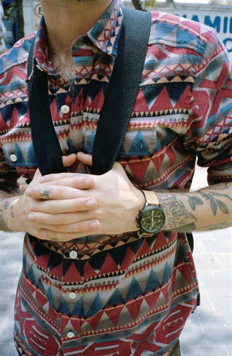 aztec pattern button up shirt 79 best summer party 2016 images on pinterest menswear