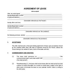 blank lease template doc 728960 blank lease agreements the agreement of