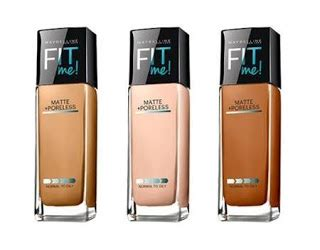 Maybelline Fit Me Foundation Indonesia harga maybelline fit me foundation bedak dan concealer