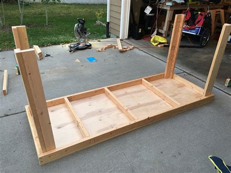 upside down bench standing work bench allwine designs