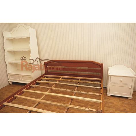 Tempat Tidur Kayu Ker produsen tempat tidur kayu jati solid kos asrama mess kontrakan rajati