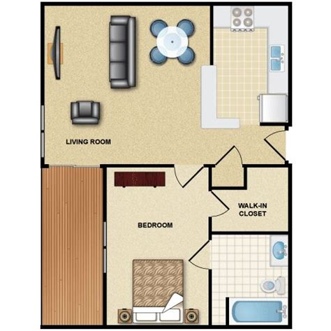 one bedroom flat one bedroom flat 1br 1ba gif 500 215 500 apartment 3d