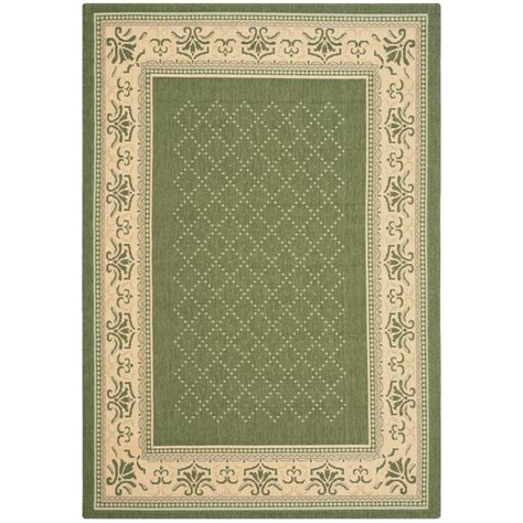 safavieh cy0901 1e06 courtyard indoor outdoor area rug lowe s canada safavieh courtyard olive 4 ft x 5 ft 7 in indoor outdoor area rug cy0901 1e06 4 the