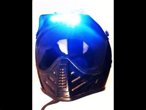 Motorradhelm Led by Helm Led Licht Atv Motorrad Enduro Moto Cross