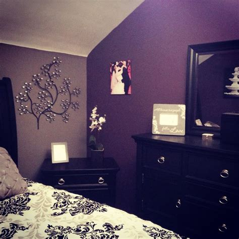 dark purple and grey bedroom my purple and grey bedroom my diy pinterest