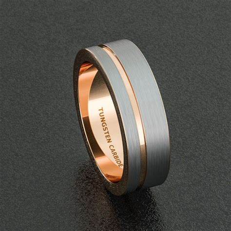 Wedding Bands For Guys by Tungsten Rings Wedding Bands And Wedding Bands On