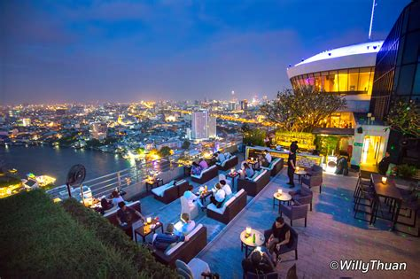 Bar Cupola by Threesixty Rooftop Bar At Millennium Bangkok