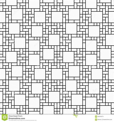 geometric pattern repeats black and white square abstract geometric design tile