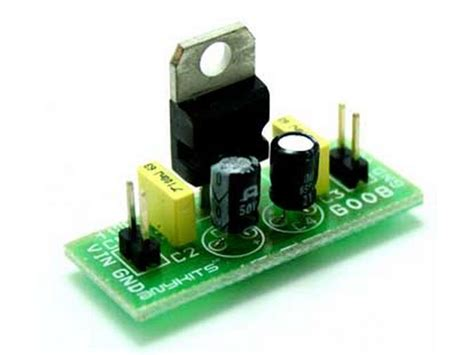 7805 large output capacitor buy voltage regulator 7805 mini at the right price electrokit