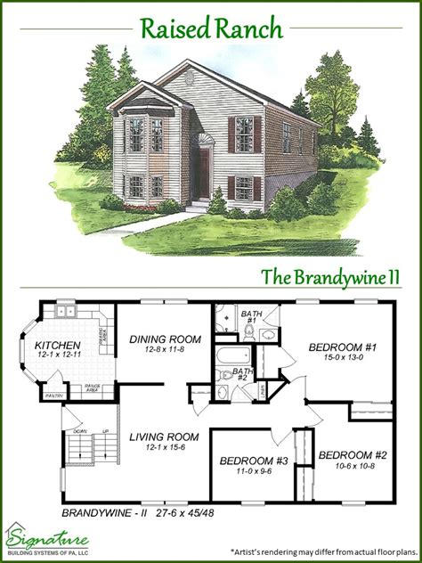 modular raised ranch floor plans modular raised ranch floor plans home design inspirations