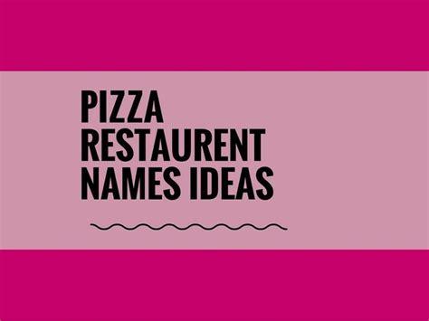 creative pizza names best 25 creative company names ideas on pinterest it