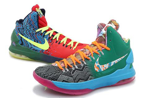 kd 5 basketball shoes nike kd 5 v basketball shoes rainbow nike kd 5