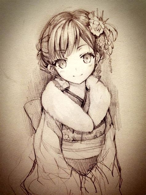Anime Drawing by 40 Amazing Anime Drawings And Faces Page 3 Of 3