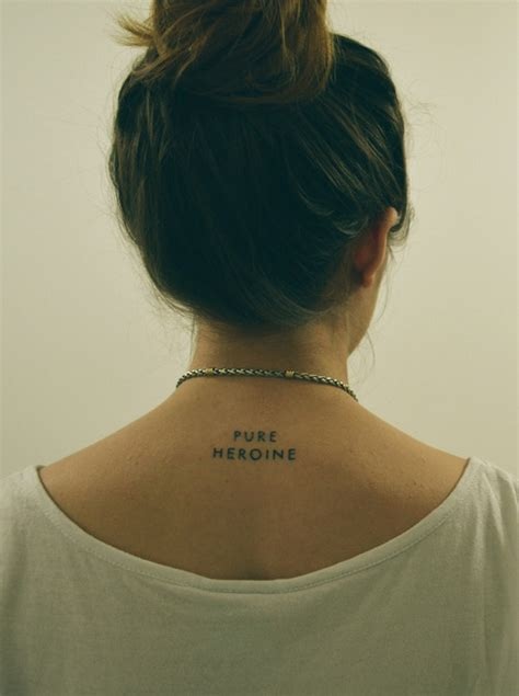 tattoo quotes for back of neck small neck tattoo tumblr