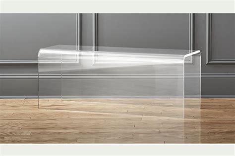 piedistalli per tavoli consolle e supporti in plexiglass trasparente panche e