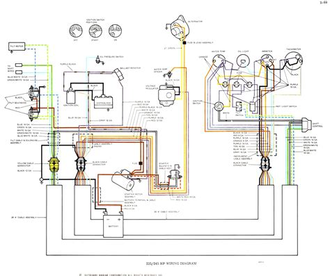 volvo penta wiring diagram alternator free