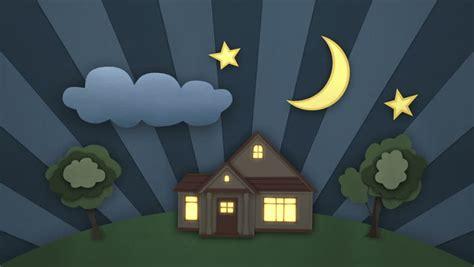 day  night beautiful illustration stock footage video