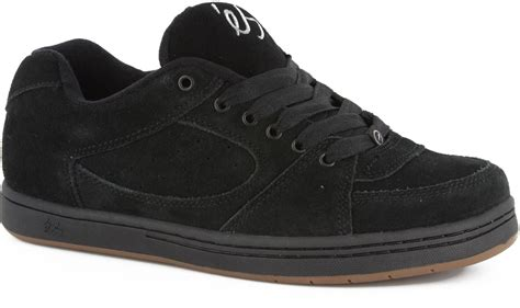 black skate shoes es accel og skate shoes black free shipping