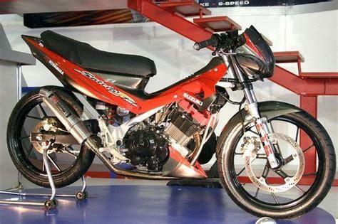 Modif Mio Soul Hitam Dop by Modif Motor Suzuki Satria Fu 150 Cc 2009 Harga Motor
