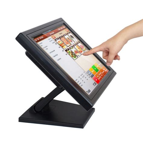 Led Monitor Touchscreen Pos 15 Quot Touch Screen Led Touchscreen Monitor Retail Kiosk Restaurant Bar Ebay