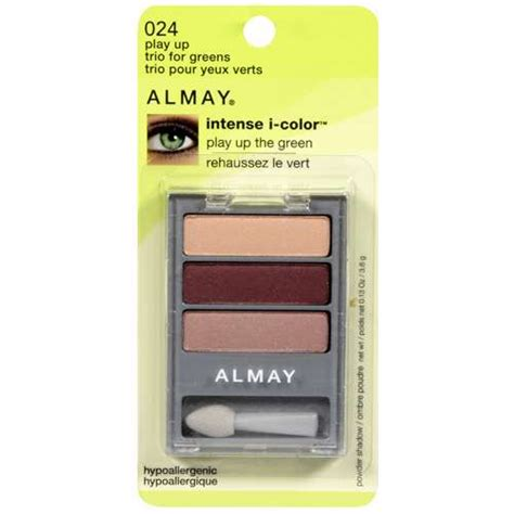 Almay I Colour Play Up Thickening Mascara Expert Review by Almay I Color Eye Shadow Play Up Trio For Greens