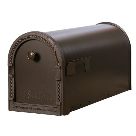 Faucets Online Shopping Gibraltar Mailboxes Designer Steel Post Mount Mailbox With