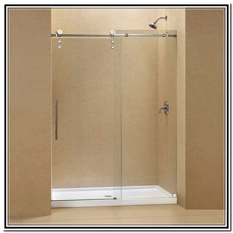 Home Depot Shower Doors Sliding Frameless Sliding Shower Doors Lowes Home Design Ideas