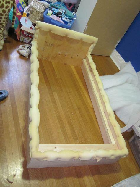 upholstered toddler bed tutorial bed ideas diy toddler